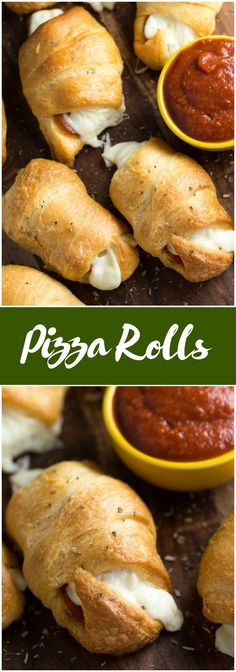 Pizza Rolls – Soft and buttery crescent rolls filled with gooey melted cheese and pepperoni slices Add some pizza dipping sauce on the side and you have a tasty appetizer kids love! The post Pizza Rolls appeared first on Woman Casual - Food and drink Kid Friendly Appetizers, Appetizers For Kids, Yummy Appetizers, Appetizer Recipes, Dinner Recipes, Party Appetizers, Seafood Appetizers, Appetizer Ideas, Appetizer Dinner