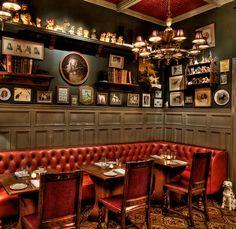 Kaper Design; Restaurant & Hospitality Design: The Dandelion Pub