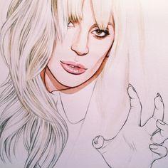 Another Billboard Gaga in progress ❤️