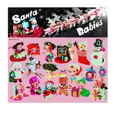 kewpie christmas stickers cute big eye dolly baby boopsiedaisy sticky poos by boopsiedaisy on Etsy https://www.etsy.com/listing/497695867/kewpie-christmas-stickers-cute-big-eye