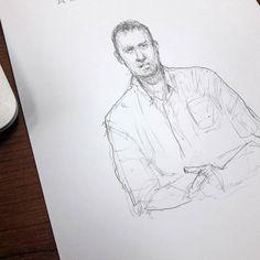 Ютьюбно-политический сериал.  #drawing #illustration #portrait #sketch #pencil #sketchbook #art #artwork #painting #eskiz #topcreator #портрет #рисунок #карандаш #набросок #эскиз