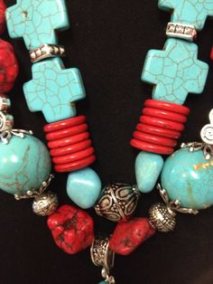 Chunky Cowgirl Western Necklace