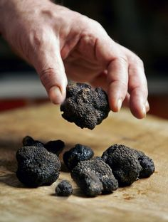 truffes - a delicacy that I love, especially in the Dordogne where I travel often.