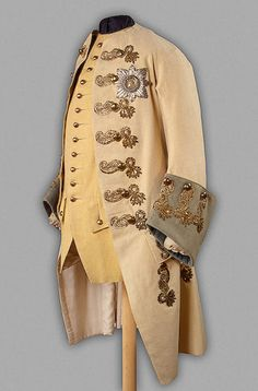 Thought to be Tsar Peter III's Officer Caftan of the Life-Dragoon Regiment of the Holstein Army, circa 1750's.