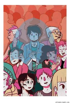 Ann Macarayan Pins Up Ramona Flowers And Sends Pokémon To Gravity Falls [Art] - ComicsAlliance | Comic book culture, news, humor, commentary, and reviews