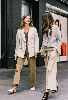 Как одеться на этой неделе: 10 простых и сногсшибательных образов в нейтральном стиле - журнал о моде Hello style