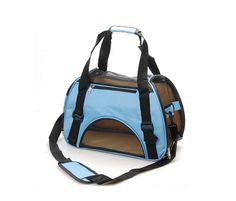 Blue Pet Dog Cat Breathable Outdoor Travel Portable Carrier Bag * Click image for more details. #MyPet