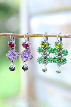 Prachtige zilveren oorbellen, met de hand gehaakt door vrouwen in Turkije en…