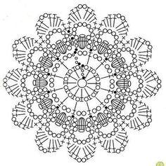 flores em croche com graficos em croche com receitas