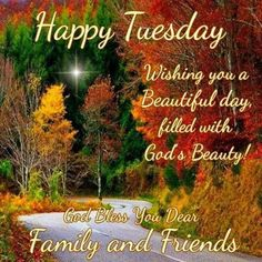 Happy Tuesday. God Bless.