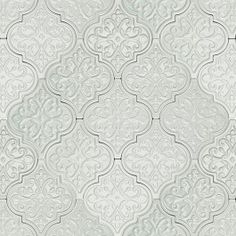 Byzantine Florid Arabesque Alice Ceramic Tile - Byzantine Collection - Ceramic Tiles