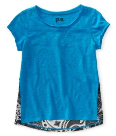 Kids' Sheer Paisley Tee