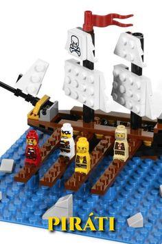Zhoďte hráčov z mostíka a nakŕmte nimi žraloky skôr, ako zhodia oni vás! Posledný na mostíku vyhráva. Zábavná strategická hra pre 2 až 4 hráčov. Lego Games