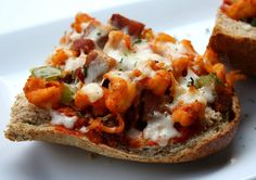 Elizabeth's Edible Experience: Crawfish & Andouille Pizza
