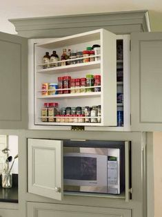 Bon Microwave Cabinet Shelf | Microwave Cabinet | Pinterest | Microwave Cabinet,  Shelves And Kitchens