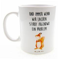 Die Tasse ist das perfekte Geschenk für deinen Freund, deine Freundin oder einfach für dich selbst.  Sie erinnert dich jeden Tag daran, zu lachen, anstatt dich zu sorgen.  Die Tasse ist...