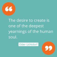 Desire to create