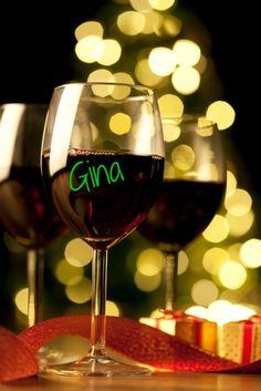 Wine Glass Writer Pen Pack of three