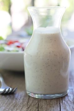 Smooth and creamy nut-free, dairy-free and oil-free Hemp Seed Herb Dressing! Perfect for salads, sandwiches,vegetables raw or roasted, . Hemp Seed Recipes, Raw Food Recipes, Diet Recipes, Salad Recipes, Vegetarian Recipes, Healthy Recipes, Oil Free Salad Dressing, Dressing Recipe, Salads