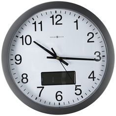 Howard Miller 625-195 Chronicle Wall Clock by >>> New offers awaiting you  : Home Decor Clocks