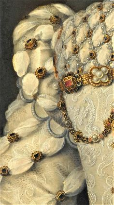 Elisabeth of Austria, Queen of France by Francois Clouet, c. 1571