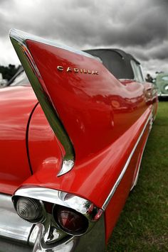 """Cadillac ~ This has my dad written all over it, but in white """"The White Swan"""""""