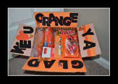 Orange Ya Glad...Mission Care Package