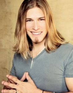 Jason Michael Carroll. Got to hold his hand while he sang to me. And got his wet hair shaken all over me.