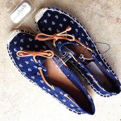 Charming Charlie Shoes - ⚓️ Anchor Espadrilles
