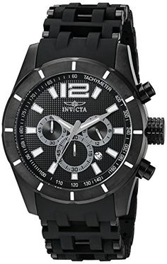088d4c7ff619 Invicta Mens 11249 Sea Spider Analog Display Quartz Black Watch -- Learn  more by visiting. PycnogonidaCaja De Acero InoxidableReloj ...