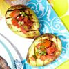 Grilled Avocado With Fresh Tomato Salsa Recipe