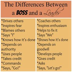 Servant Leadership: The Difference Between a Boss and a Leader boss quotes, work boss, leadership training, boss leader,...