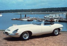 Jaguar E-Type- I would literally kill for this car