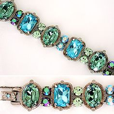 This season's hottest trend: chunky bracelets & cuffss.  View our fabulous collection of braceletss from Sorrelli's Ocean collection.  Mesmerizing shades of blues & greens gorgeous, relaxing, peaceful.