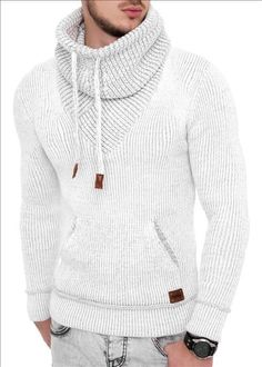 Top Winter Fashion Sweaters for Men Ideas Mens Fashion Sweaters, Sweater Fashion, Sweater Outfits, Casual Outfits, Men Sweater, Men Casual, Fashion Outfits, Fashion Boots, Womens Fashion