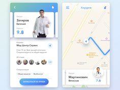 Medical app by Ilya Chikunov