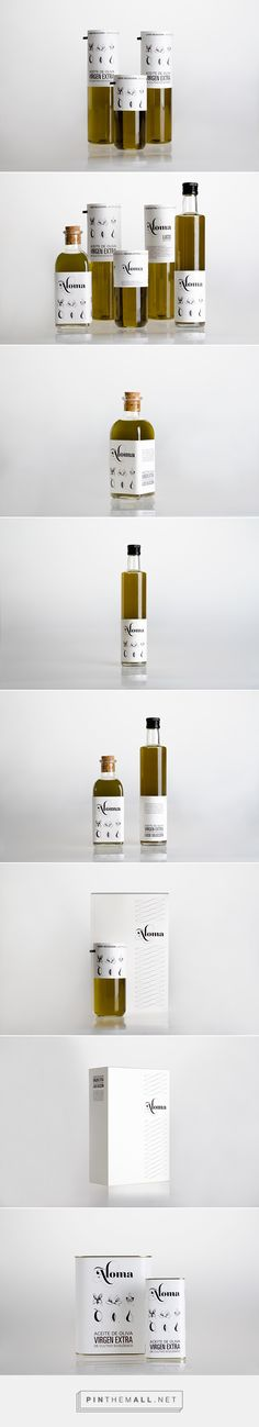 Aloma | organic olive oil Vacuum Packaging, Beverage Packaging, Bottle Packaging, Cosmetic Packaging, Brand Packaging, Label Design, Package Design, Olive Oil Brands, Olive Oil Packaging