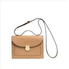 Gold Lock Crossbody Bag