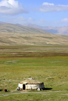 Home on the Mongolian Steppe. The Eurasian Steppe has been home to nomadic…