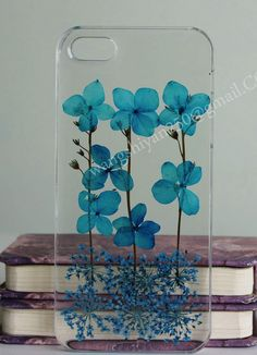 Real flowers case,iphone 6 plus case