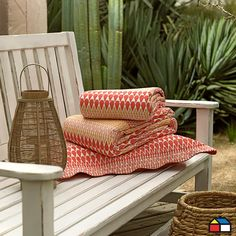 Quilt Coral #terraza #jardin