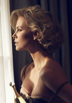 Charlize Theron by Mike Rosenthal