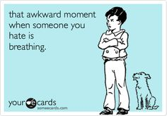 so awkward...