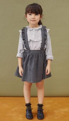 Popular Girl Clothes February 17 2019 at Fashion Kids, Little Girl Fashion, Toddler Fashion, Fashion 2016, Moda Kids, Kids Outfits, Cute Outfits, Little Girl Dresses, Baby Dresses