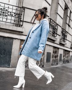 20+ incredibly chic and cool autumn outfits fashion girls can't stop wearing Denim Fashion, Fashion Photo, Girl Fashion, Fashion Outfits, Girls Wear, Women Wear, Casual Office Wear, Velvet Suit, Little White Dresses