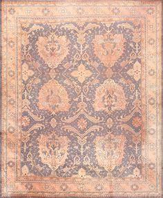 Large Scale Antique Turkish Oushak Rug 50241