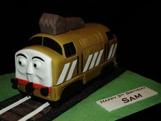 diesel 10 cake - Noah would adore this!!