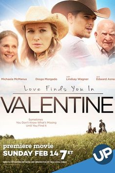 Love Finds You in Valentine (2016)   http://www.getgrandmovies.top/movies/24963-love-finds-you-in-valentine   Kennedy Blaine, a Californian girl, inherits a ranch in the small town of Valentine in Nebraska. Before she sells the property, she decides to spend the summer in her house and learn more about her family.