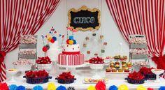 fiesta tematica circo - Buscar con Google