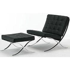 ミース・ファン・デル・ローエ デザイン バルセロナチェア - ヨーロッパ雑貨カポーラ